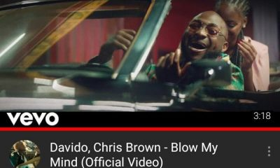 Davido breaks Wizkid's record for the fastest music video to hit 1 million YouTube views in Nigeria.