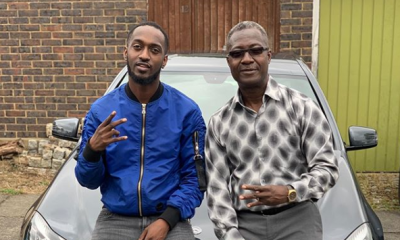 Watch: Eugy Official surprises dad with a Mercedes Benz car