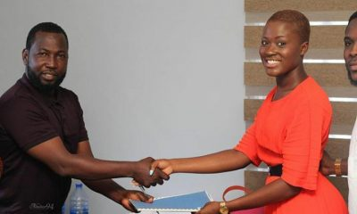 Watch: Fella Makafui signs new ambassadorial deal with Castle Gate Estate