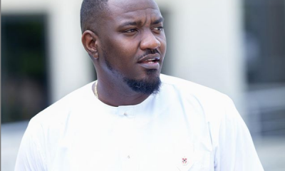 John Dumelo expresses his excitement after chamber dropped.