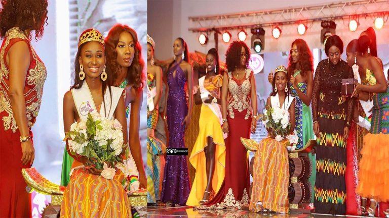 Rebecca Nana Adwoa Kwabi crowned Miss Ghana 2019