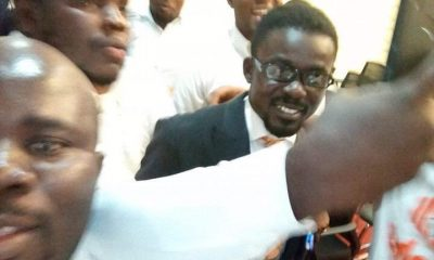 Photo: Menzgold boss, Nana Appiah Mensah arrives in Ghana
