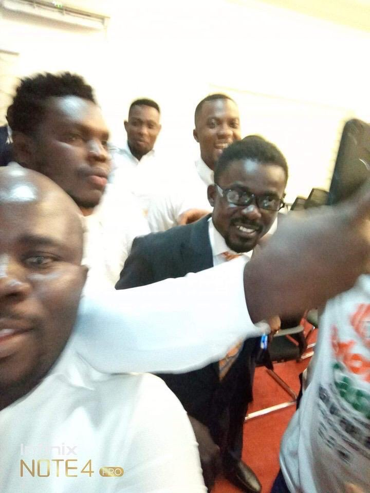 Photo: Menzgold boss, Nana Appiah Mensah arrives in Ghana