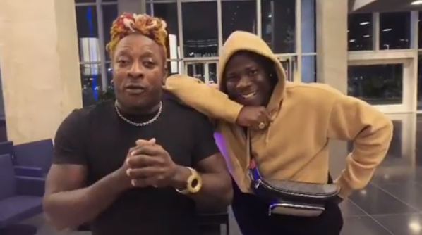 Watch: Stonebwoy to feature Jamaica's Elephant Man.