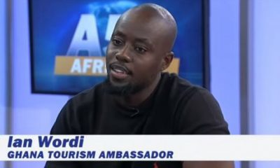 Watch: Ian Wordi promotes Ghana's tourism internationally on Voice Of America channel