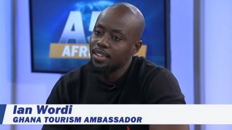 Watch: Ian Wordi promotes Ghana's tourism internationally on Voice Of America channel