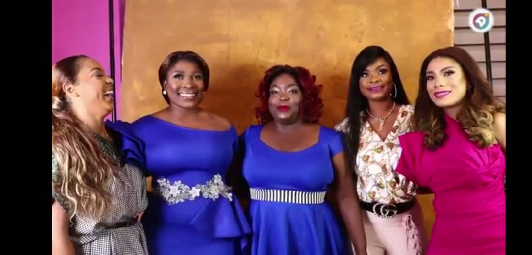 Watch: Actress Zynnell Zuh and celebrity friends glam up for Senak Hair Collection promo shoot
