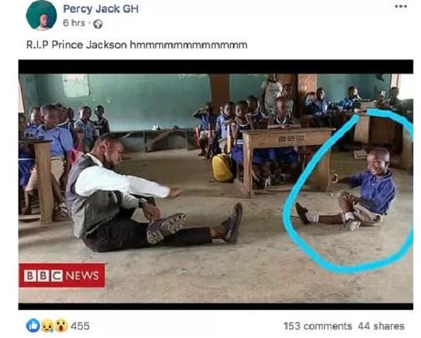 """Little boy in viral """"Omo Ada"""" dance video dies after suffering internal bleeding, teacher confirms"""