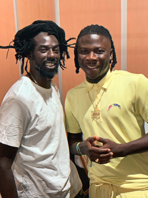 Recording with ex-convict, Buju Banton, won't affect my brand – Stonebwoy