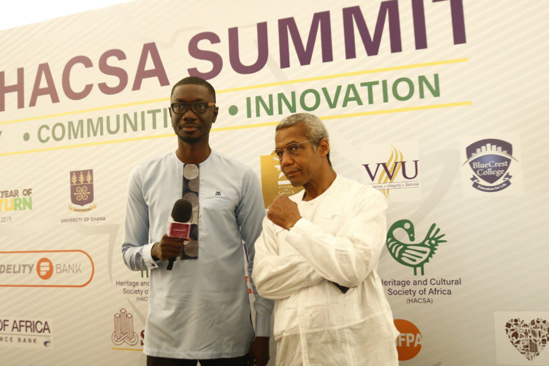 Ghana, Nigeria and South Africa film industries need to create a joint hub to push African movies to the world - British actor Hugh Quarshie