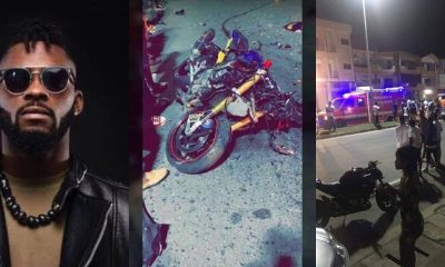 Watch: CCTV footage shows how DJ Arafat's accident occurred