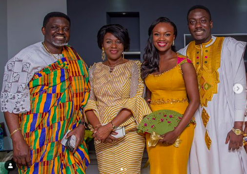Bishop Agyinasare's daughter Charlene ties the knot with Elvis