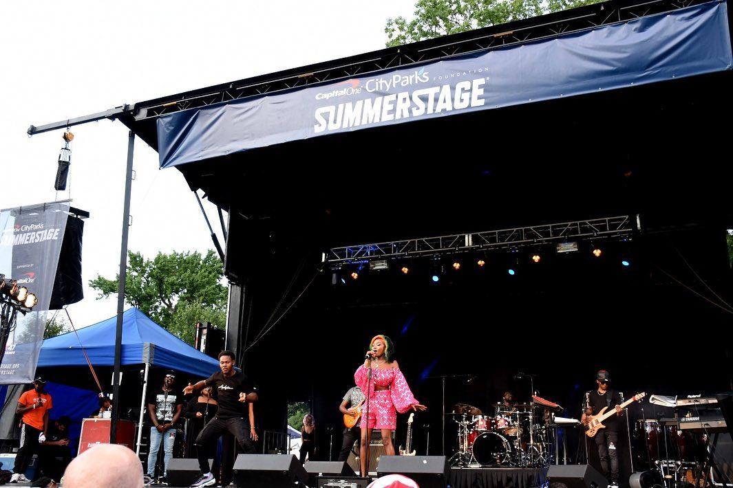 Photos: Efya thrills at SummerStage 2019 in New York