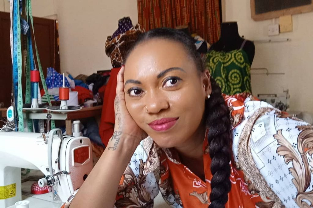 Watch: Actress Pascaline Edwards turns fashion designer