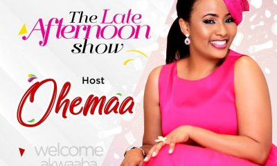 Asantehene's daughter replaces Berla Mundi on 'The Late Afternoon Show'