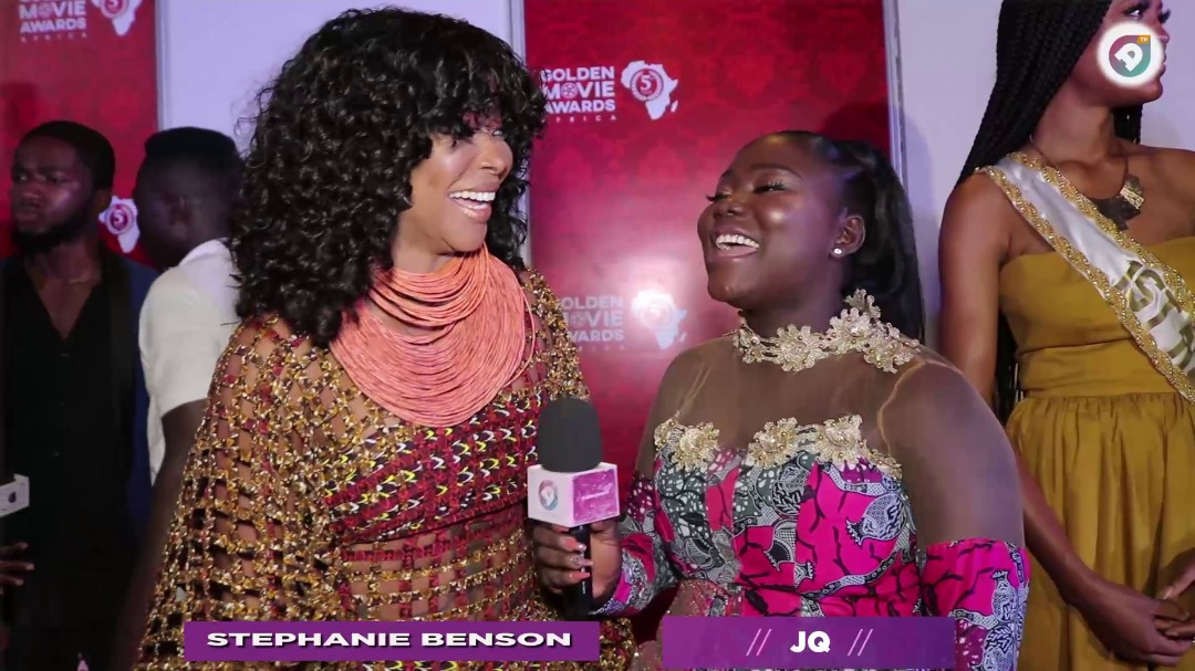 WATCH: Taking my cloths off in my first movie was my favorite moment - Stephanie Benson