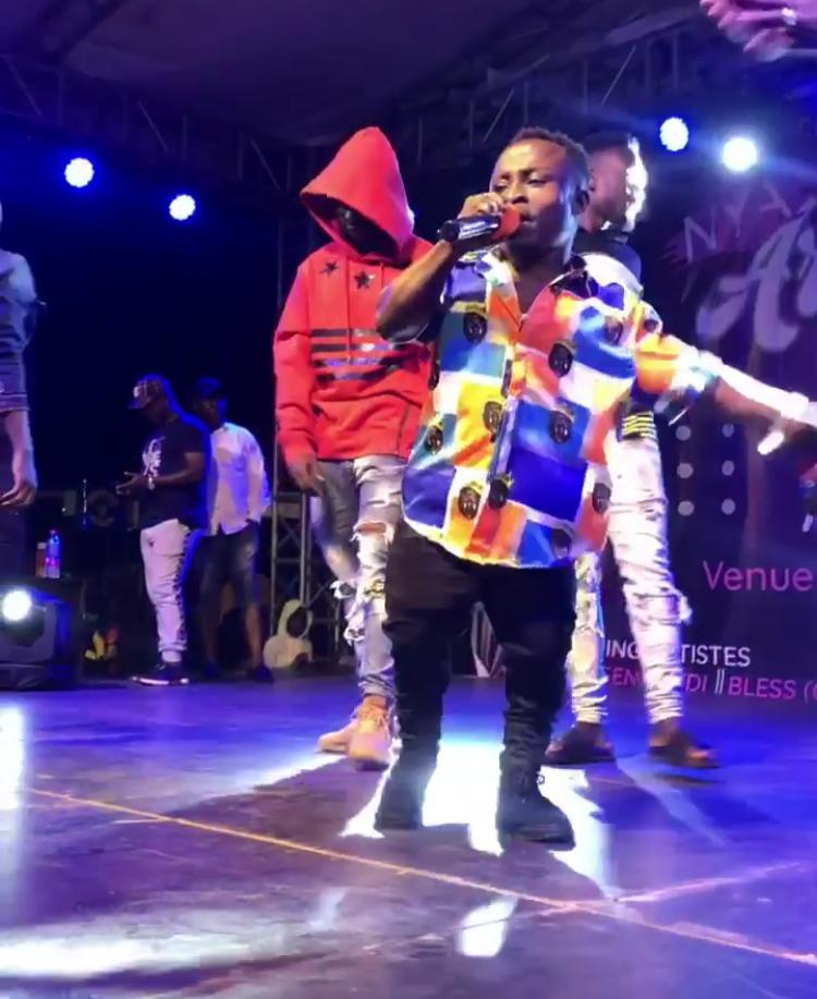Watch: Meet the shortest rapper in Ghana with 2 songs in his 10 year career