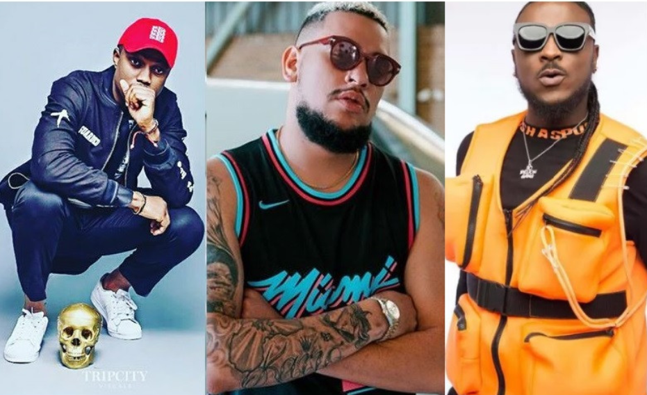 #XenophobicAttacks: Nigeria's YCee, Perruzi and Vector come at South African rapper AKA