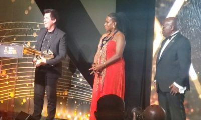 Simon Fuller recounts growing up in Ghana at GUBA Awards
