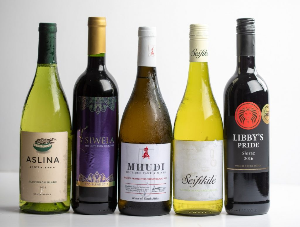 The South African wine brands on show