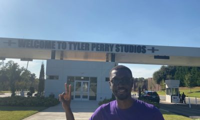 Ameyaw Debrah at Tyler Perry Studios