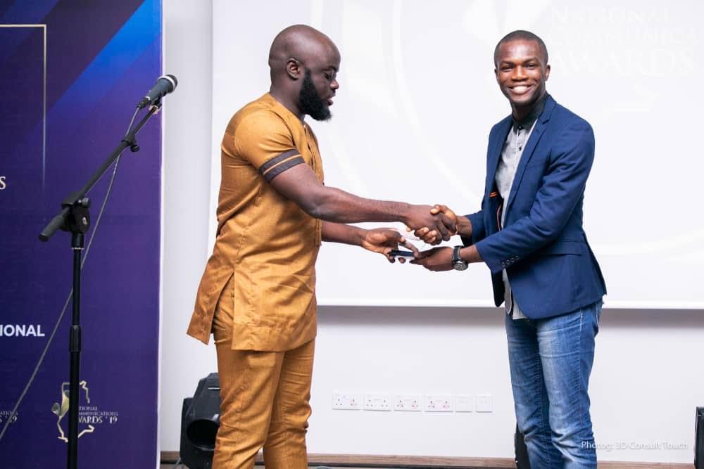Winners at National Communication Awards 2019