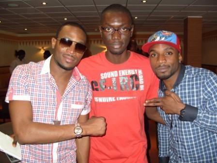 Ameyaw Debrah with Dbanj Kayswitch