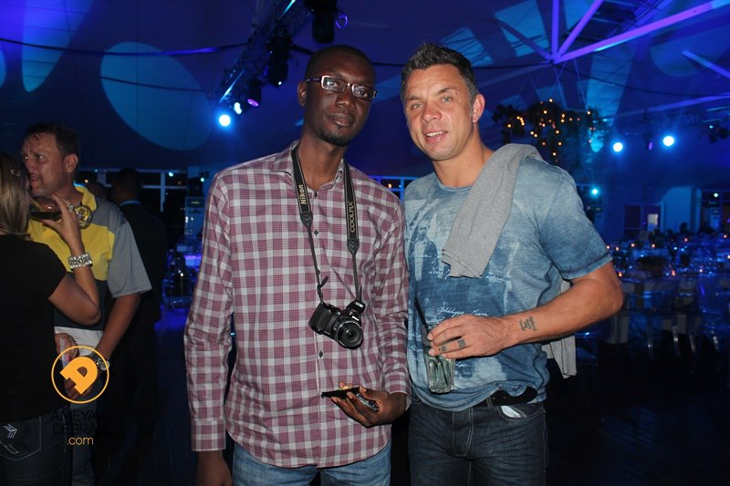 Ameyaw Debrah with Mark Fish