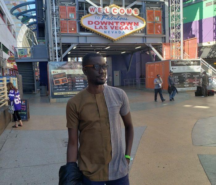 Ameyaw Debrah in Las Vegas