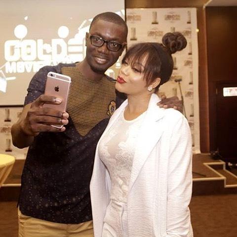 Ameyaw Debrah with Nadia Buari