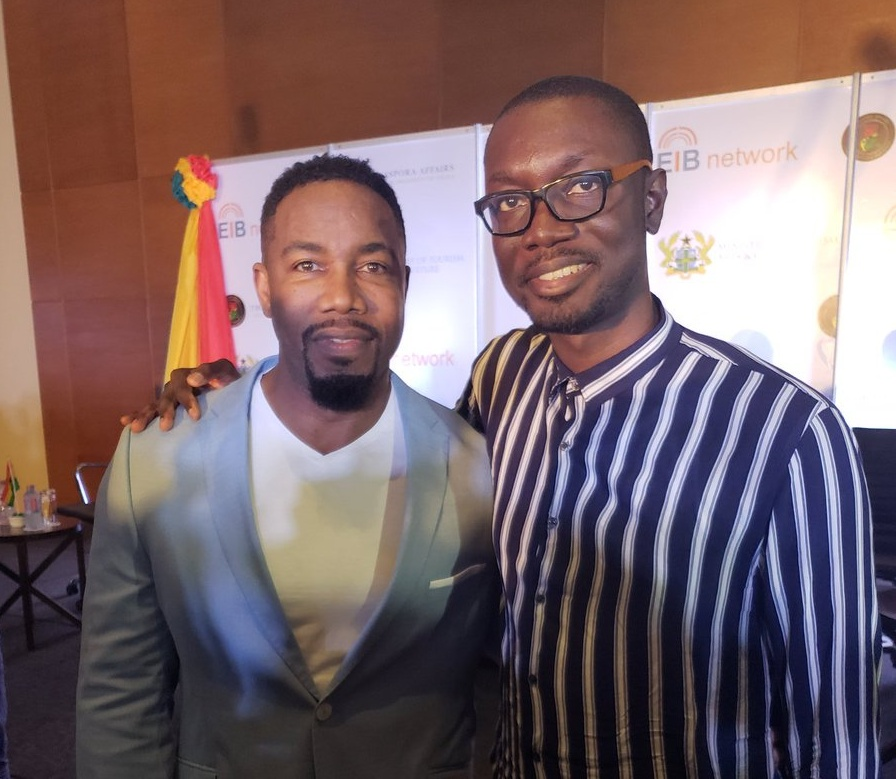 Ameyaw Debrah with Michael Jai-White