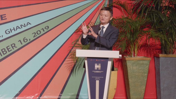 Jack Ma says his visit to Ghana is the most important one yet in Africa