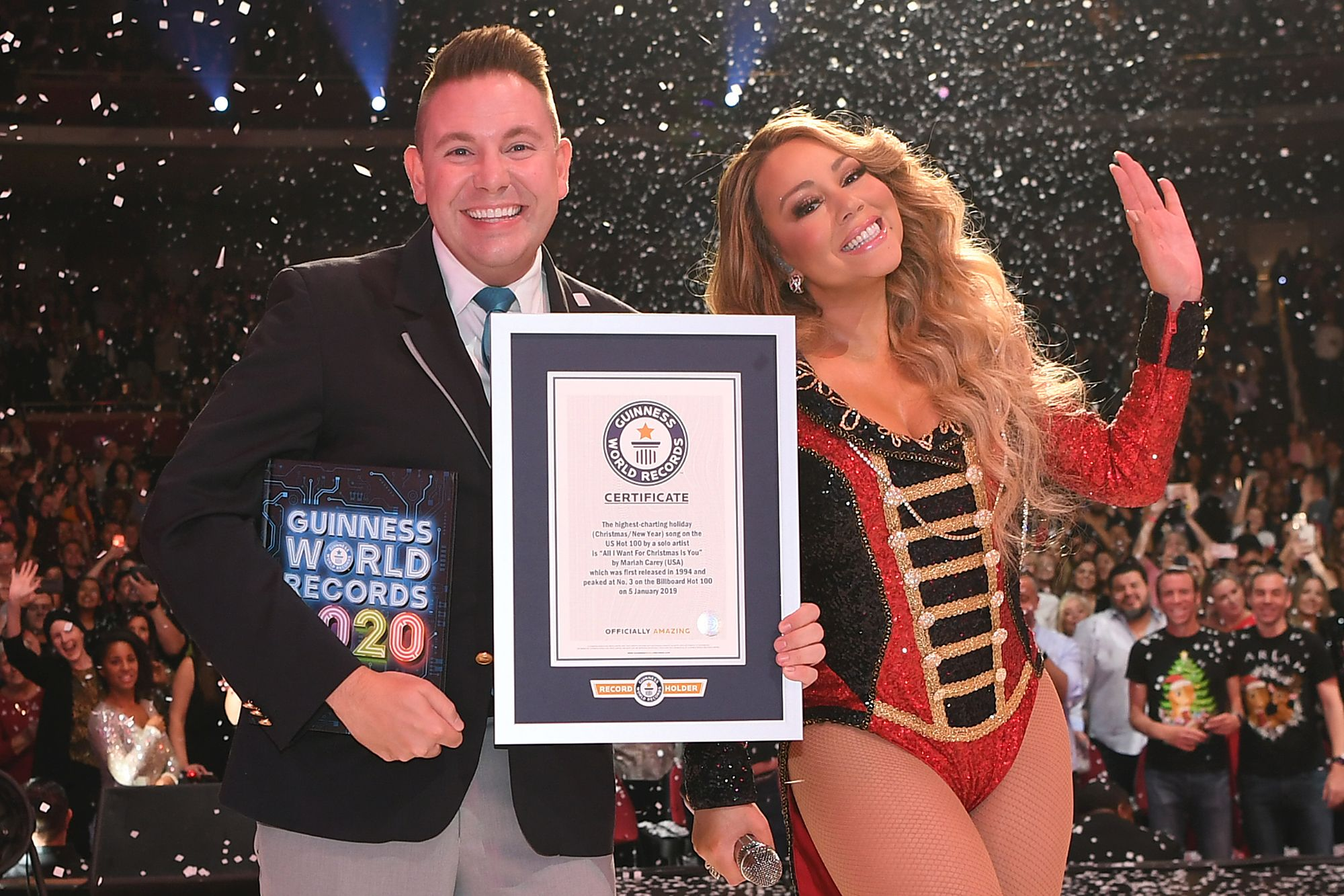 Mariah Carey breaks three Guinness World Records with 'All ...