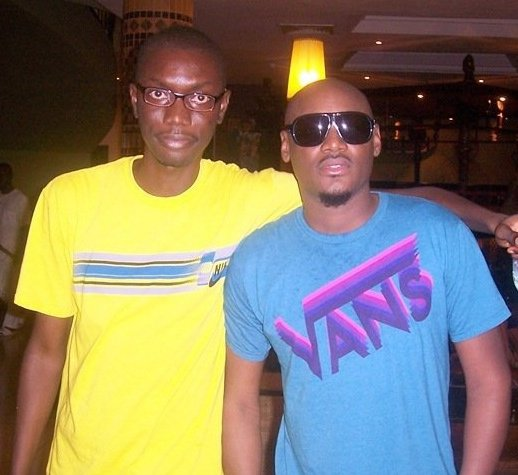 Ameyaw Debrah with 2Baba, 2face Idibia
