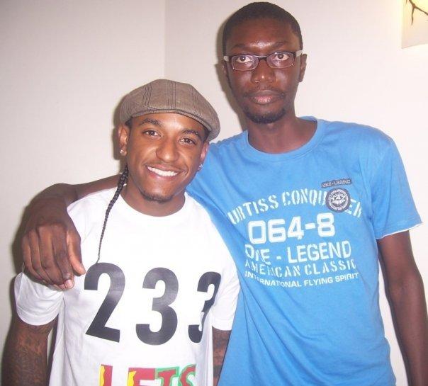 Ameyaw Debrah with Lyodd