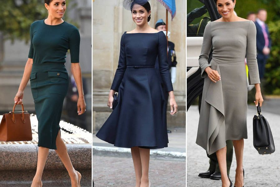 Image result for Meghan Markle overtakes Kylie Jenner to become the most powerful dresser of 2019