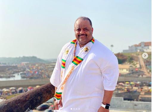 Roland Martin made a chief in Cape Coast