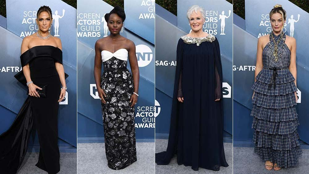 Sag Awards 2020 Red Carpet Fashion And Full List Of Winners Ameyaw Debrah