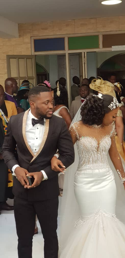 Kennedy Osei and Tracy Ameyaw Wedding