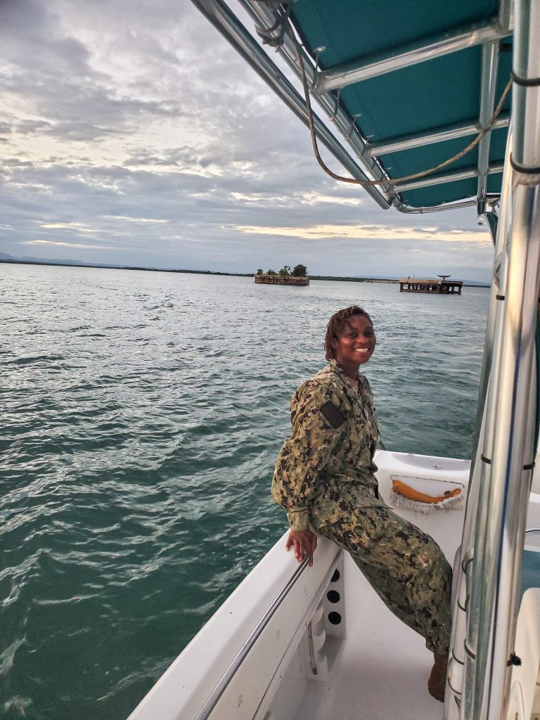 Pearl Amoako's rise through the ranks of the US Navy