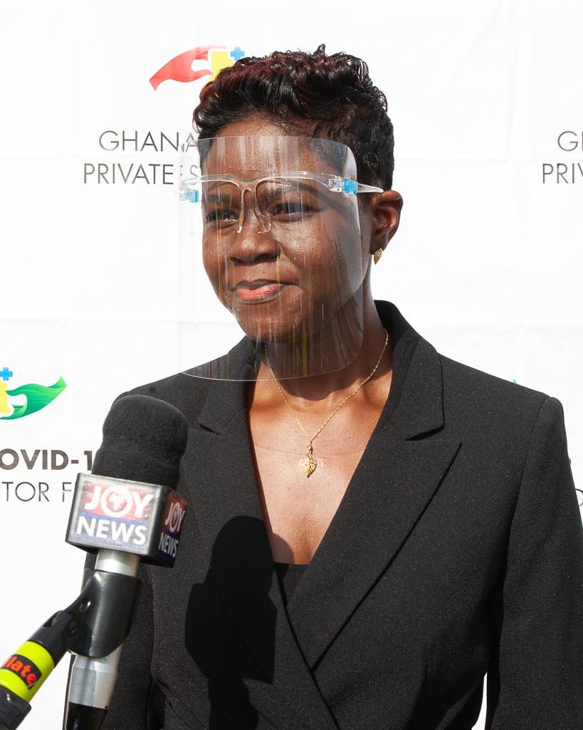 Cynthia Darko Acquaye  Group Chief Operations Officer CH Group Ltd.