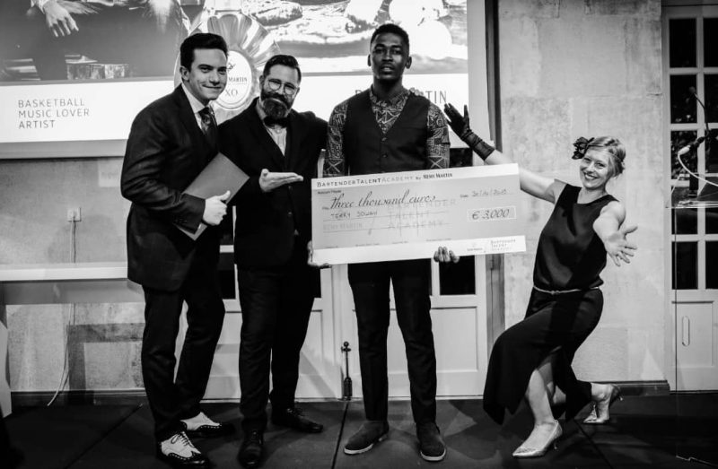 Terry Sowah, The Global Winner Of The Remy Martin Bartender Talent Academy