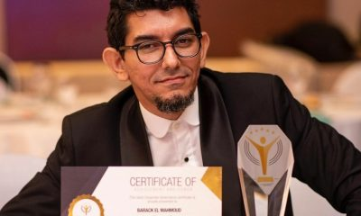 Barrak El-Mahmoud wins Ghana's most respected CEO in photography