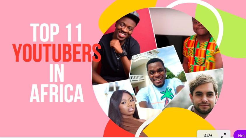 Top 11 african Youtubers