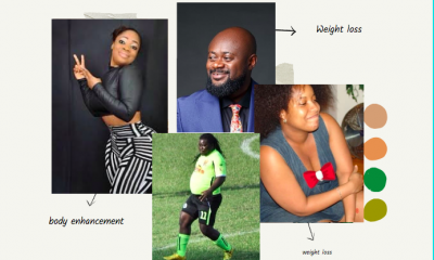 drastic Ghanaian celebrity transformations