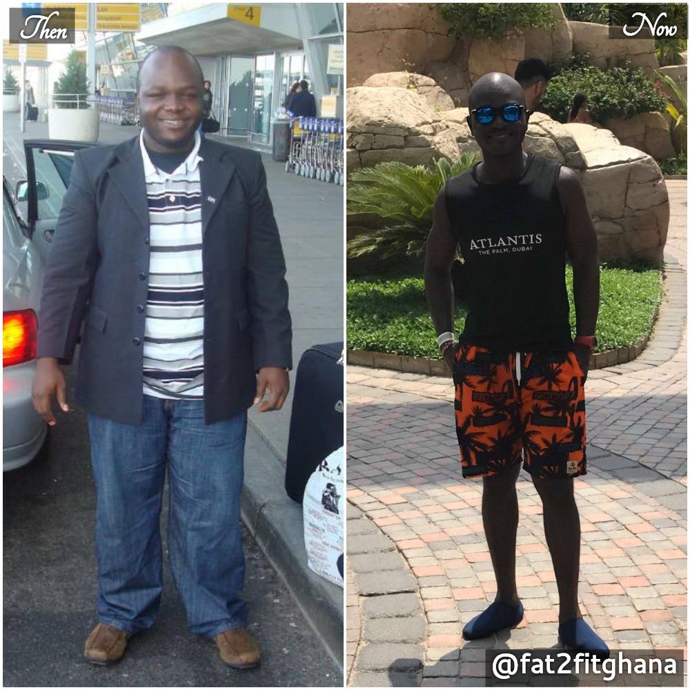 Akoto DerGross, Founder & CEO, Fat2Fit Ghana