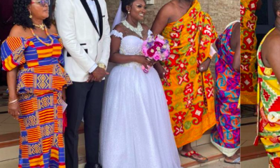Abena Moet's wedding to Nana Yaw Essah
