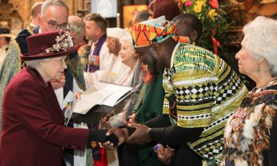 Abass Dodoo became a regular choice for the British Royal Family
