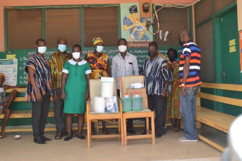 Ekuona Family of Adansi Fomena donates COVID relief items to five institutions (5)