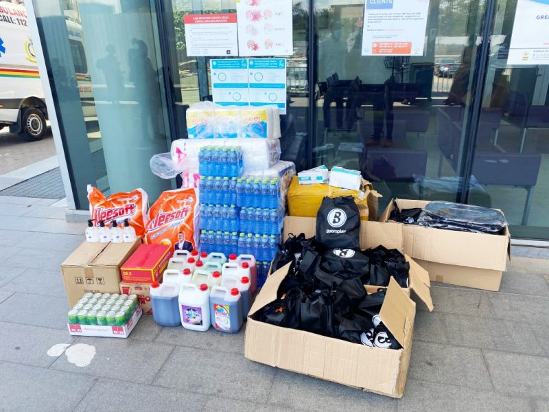 The items donated to the Greater Accra Regional Hospital